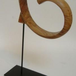 Idiot. Olivier, bronze. Hauteur 20cm